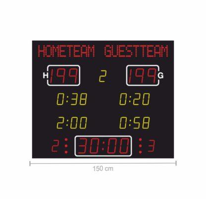 Спортивное табло Nautronic для футзала и гандбола