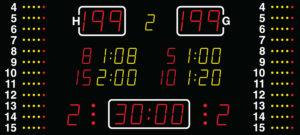 Спортивное табло Nautronic модель NA2157