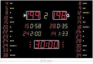 Универсальное табло для спорта Nautronic