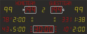 табло для хоккея nautronic NA2672T
