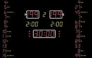 Спортивное баскетбольное табло Nautronic