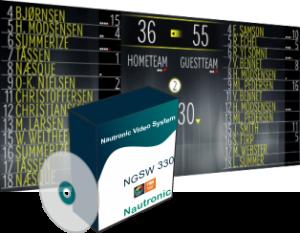 Программа табло для баскетбола nautronic