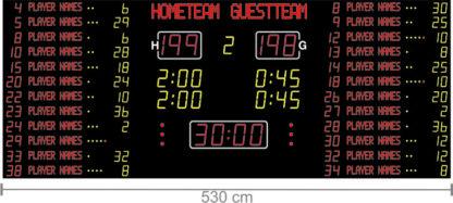 Спортивное табло для баскетбола Nautronic NX26401