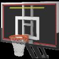 Красные и желтые LED полосы на щит в баскетболе