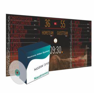 Пакет программного обеспечения для отображения спортивного табло на LED экране
