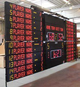Табло для баскетбола Nautronic NX33010SS FIBA-1